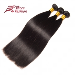 10A Straight Hair 3/4 Bundles Human Hair with baby hair