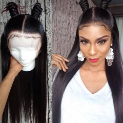Wiccawigs Customized Glueless Lace Front WigsWith Baby Hair Brazilian Remy Full Lace Wigs Pre Plucked Hairline