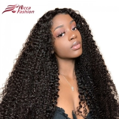 Wiccawigs Customized Curly Glueless Lace Front Wigs With Baby Hair Full Lace Wigs Pre Plucked Hairline