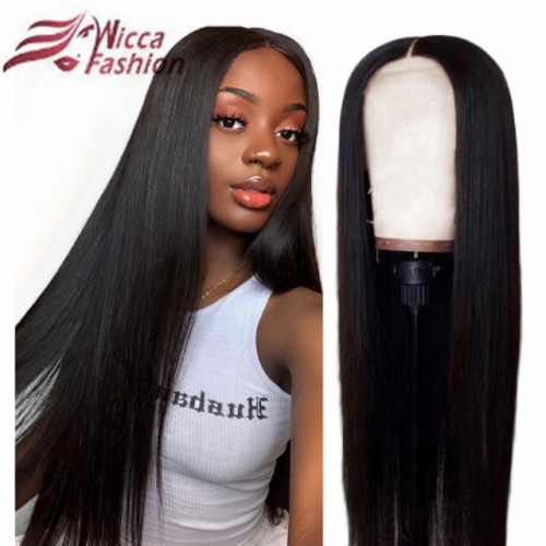 Wiccawigs Customized Full Lace Wigs Brazilian Remy Human Hair Glueless Lace Front Wigs With Baby Hair