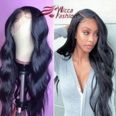 Wiccawigs Customized Brazilian Body Wave Wigs Lace Front Wigs With Baby Hair Full Lace Wigs Pre Plucked Hairline