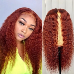 Wiccawigs Customized Chocoloate Color Glueless Full Lace Wigs With Baby Hair Pre Plucked Hairline
