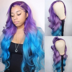 Wiccawigs Customized Full Lace Wigs With Baby Hair Pre Plucked Hairline