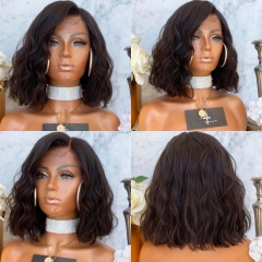 Wiccawigs Customized 12A Brazilian Human Hair Glueless Lace Wigs with Baby Hair Full Lace Wigs Pre Plucked Hairline