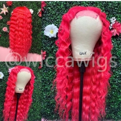 Wiccawigs Customized Peruvian Virgin Glueless Lace Front Wigs With Baby Hair