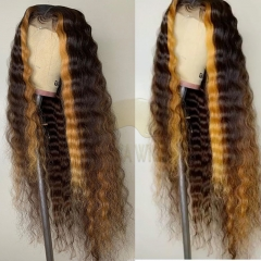 Wiccawigs Customized Lace Front Wigs Brazilian Loose Wave With Baby Hair Full Lace Wigs Pre Plucked Hairline