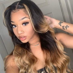 Wiccawigs Customized Lace Front Wigs Brazilian Remy Full Lace Wigs With Baby Hair Pre-plucked Hairline