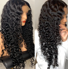 Wiccawigs New arrival hot style water wave luxury lace wigs for black beauty